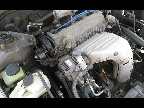 Front End Engine Tear Down 2.2L Toyota Camry 1997-2001