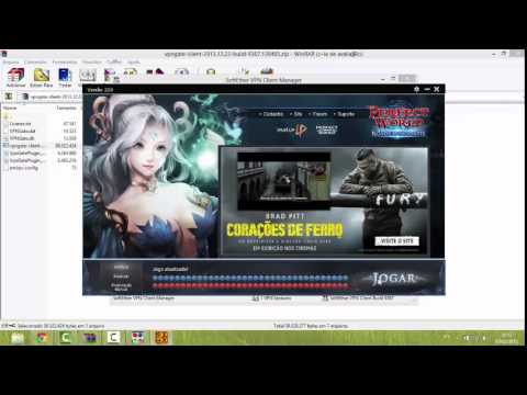 Tutorial SoftEther VPN Client Manager mudando o IP/Changing IP to play foreign games with SoftEther