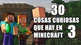 30 cosas curiosas que hay en Minecraft - Parte 3