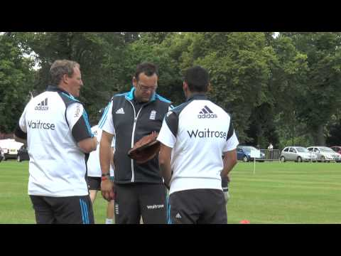 England Physical Disability cricket team take on the Army