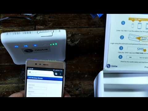 Unboxing the Globe Prepaid  Home WiFI LTE