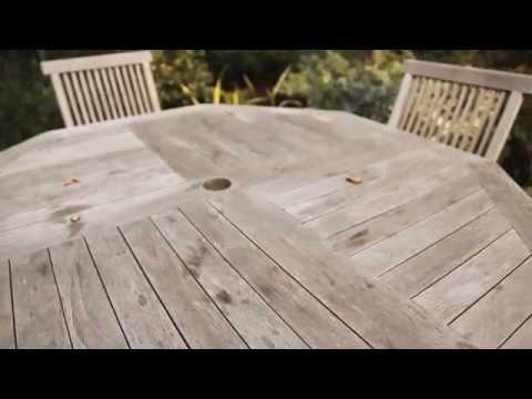 How to Restore Your Wooden Garden Furniture