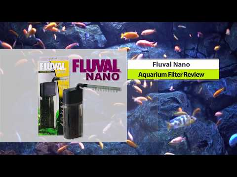 Fluval Nano Filter for Aquariums Review | Giveaway at End