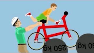 PORTO MIO PADRE IN BICI! - [Happy Wheels Ep.130]