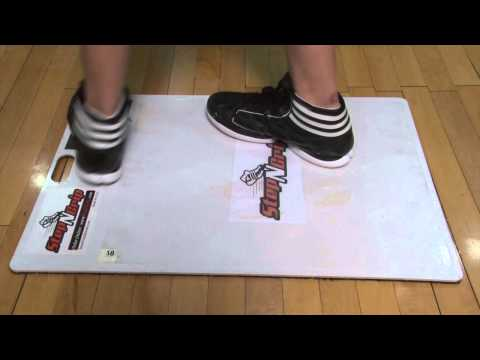 Why StepNGrip? Stop Slipping on the Court.  No slide. Use Step N Grip.