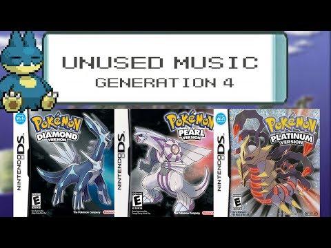UNUSED MUSIC - GENERATION 4  - Pokemon Diamond / Pearl / Platinum Unused Tracks!