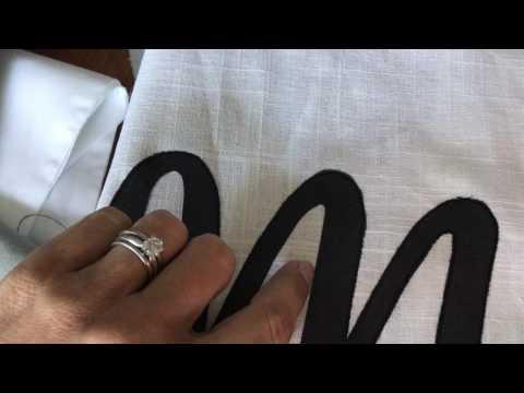 how to do a neat satin stitch