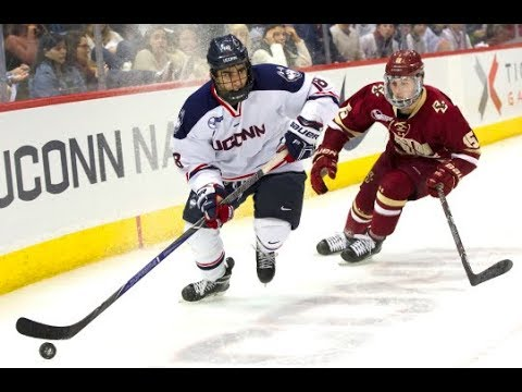 UConn Men's Ice Hockey Highlights v. Boston College 02/02/2018