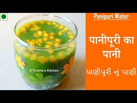 Panipuri - Pani | पानीपुरी का पानी | પાણીપુરી નું પાણી | By Trusha Satapara