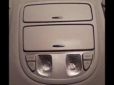 How to Repair Overhead Door Light - Hyundai Santa Fe - 2007-2012