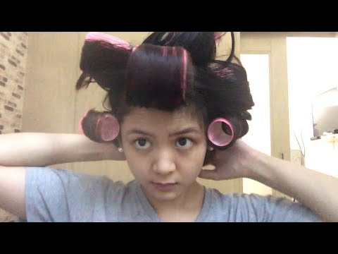 How I use Velcro Rollers to Volumize my Hair