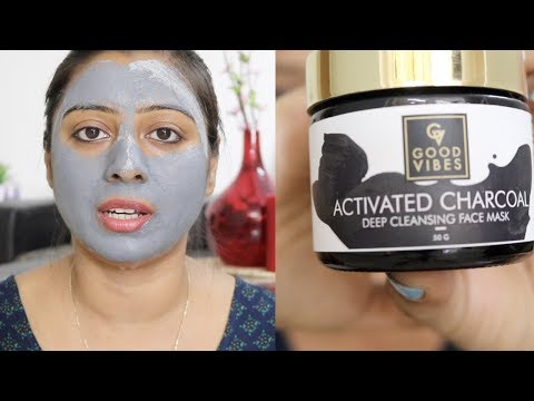 How to Apply Activated Charcoal Face Mask || Affordable Charcoal Face Mask || Preventing Naturally