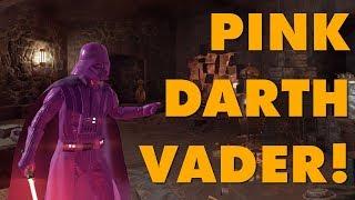 Pink Darth Vader Modded Into Battlefront II Because EA Said Nobody Wants Pink Darth Vader