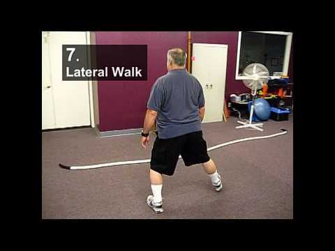 Fall Prevention Exercises (Balance Series) - Lateral Walking