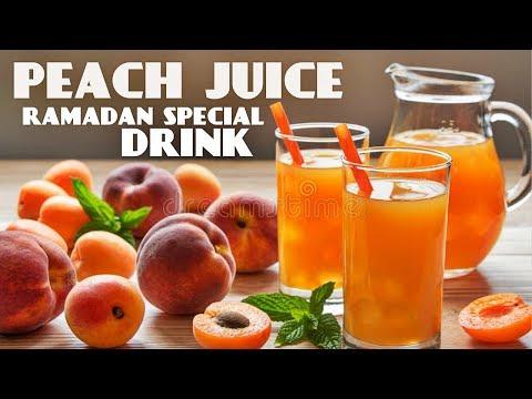 Peach Juice Recipe | How To Make Peach Juice | Iftar drinks | Ramadan special