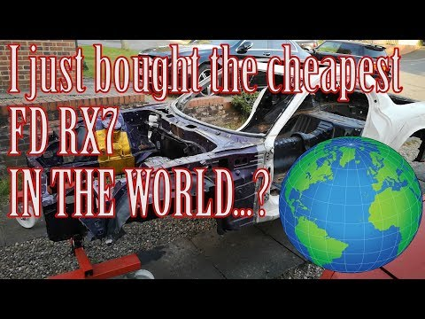 Cheapest FD RX7 in the World!?