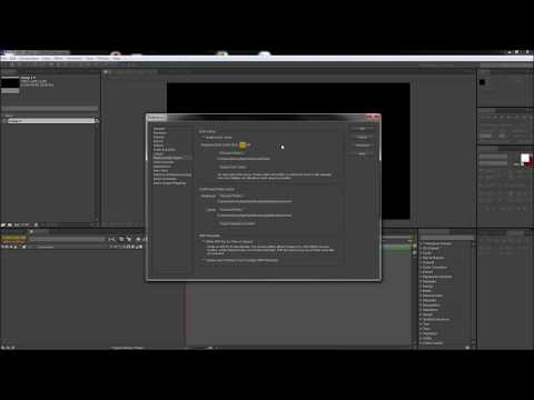 After Effects Tutorial: Increase Ram Preview and Rendering Speeds -HD-