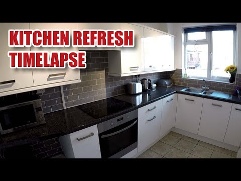 Simple KITCHEN REFRESH / Makeover Timelapse [102]