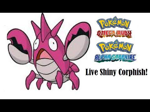 Live Shiny Corphish! - Pokémon Omega Ruby