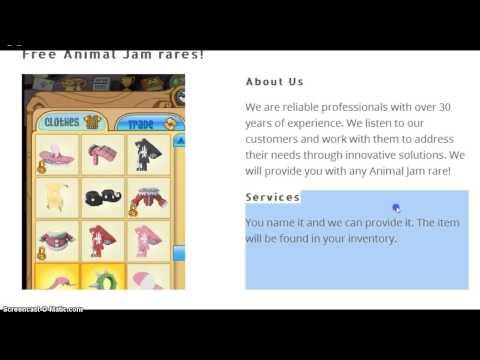 Animal Jam - FREE RARES OMG