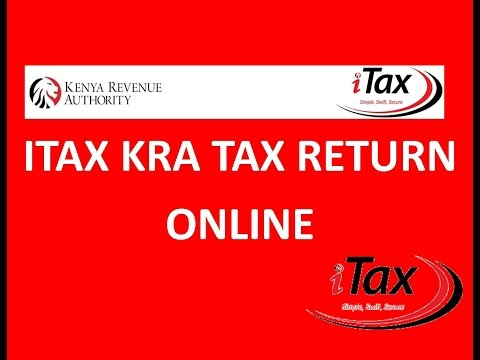 Easiest way to file KRA iTax Returns for those with Employment Income