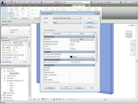 Revit How To:  Add a Frame to an Existing Door Family