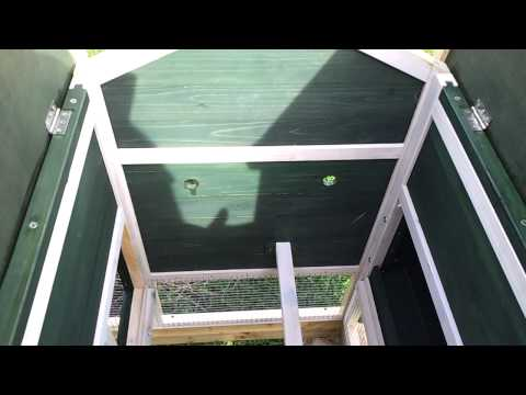 Ebay from uk coops CHICKEN COOP & RUN HEN HOUSE POULTRY   I made bigger