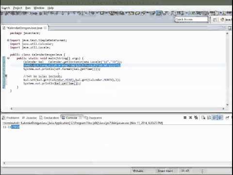 Java Easy   Java Calendar 1