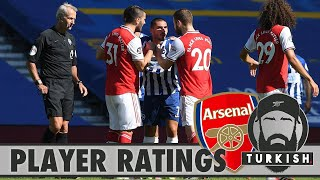 BRIGHTON 2-1 ARSENAL | ONLY OURSELVES TO BLAME 🙄 | PLAYER RATINGS 🤔 | MATCH REVIEW 📝