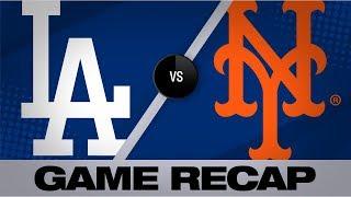 Davis' 3-run double lifts Mets past Dodgers   Dodgers-Mets Game Highlights 9/14/19