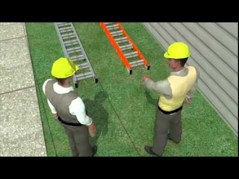 Electrocution/Work Safely with Ladders Near Power Lines