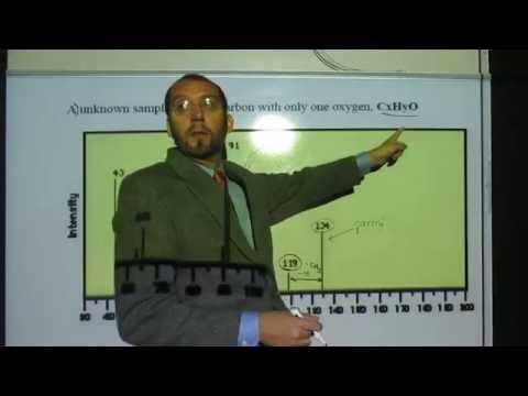 Mass Spectroscopy - Identify Molecular Structure CxHyO 001