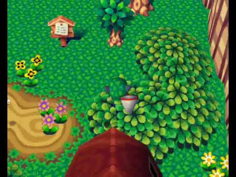 Animal Forest (N64) - How to catch a bee in 10 steps