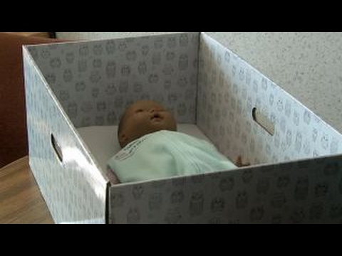 Can cardboard boxes reduce SIDS in US?