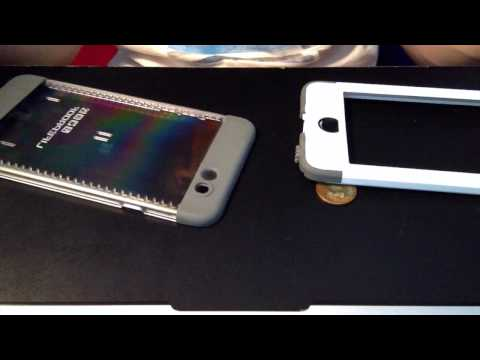 How to take off and put on the lifeproof case nuud (iphone 6)