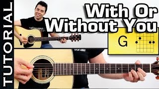 U2 - Get Out Of Your Own Way - Guitar Tutorial W/Chords