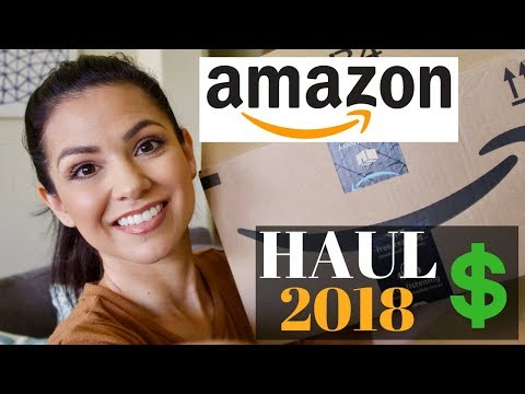 AMAZON HAUL 2018 || WHAT I BOUGHT ONLINE