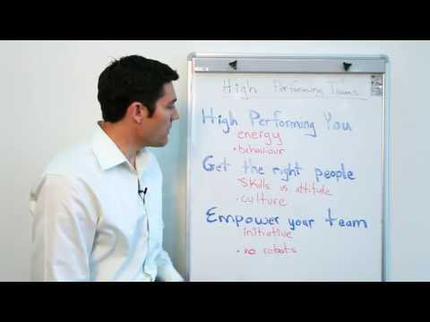 Creating High-performing Project Teams