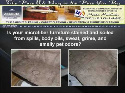 Deland Microfiber Furniture Cleaning 321-216-1442 Sanford, Orlando.