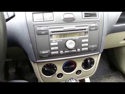 Ford CD 6000 Radio -Where to find the key code ???