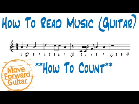 How to Read Music (Guitar) - Count Rhythm
