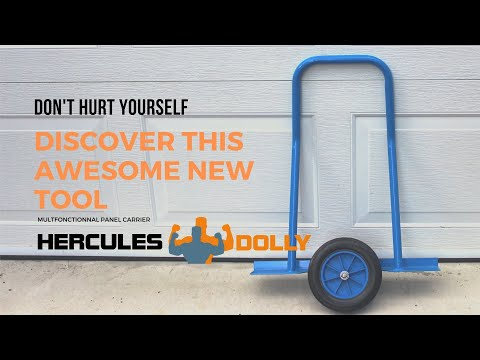 CHECK OUT THIS AWESOME NEW TOOL - HERCULES DOLLY