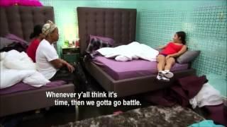 Bad Girls Club Season 8 - Dani & Gabi vs Gia, Erica, Elease & Mimi
