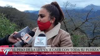 Hallaron el cuerpo sin vida de Luis Espinoza en Catamarca