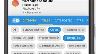 Find your next job, with Google