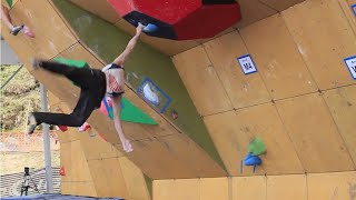 Download Daniel Woods Wins Bouldering World Cup Video