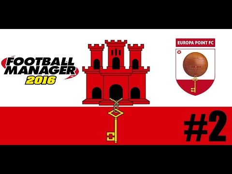 Football Manager 16 - The Gibraltar Challenge - Episode 2 - International Woes