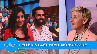 Ellen Kicks Off the Final Season with First-Time Audience Members!