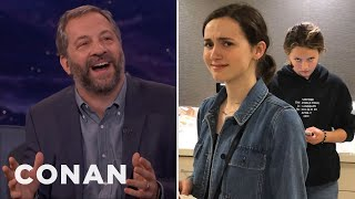 judd apatow my daughters think im a hollywood dick conan on tbs