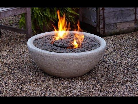 Fascinating Concrete Fire Bowl Ideas